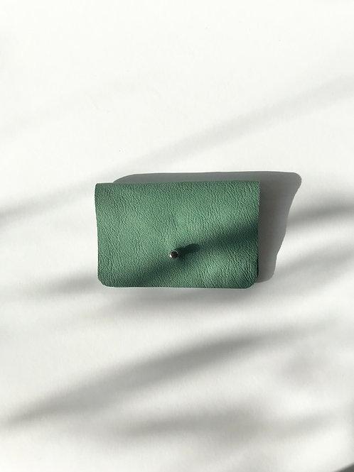 portfel S zielony