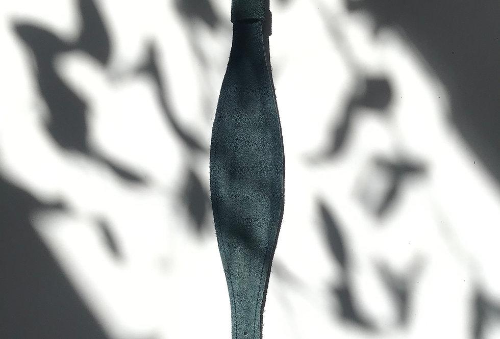 PSIA OBROŻA rybka turkusowy zamsz