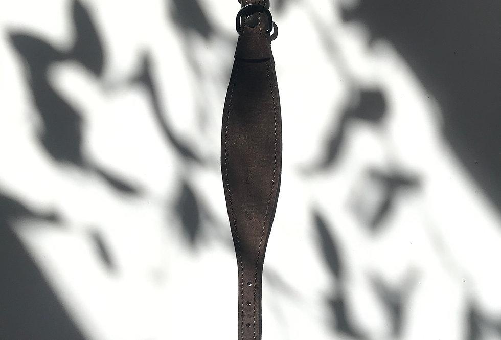 PSIA OBROŻA rybka brązowy zamsz