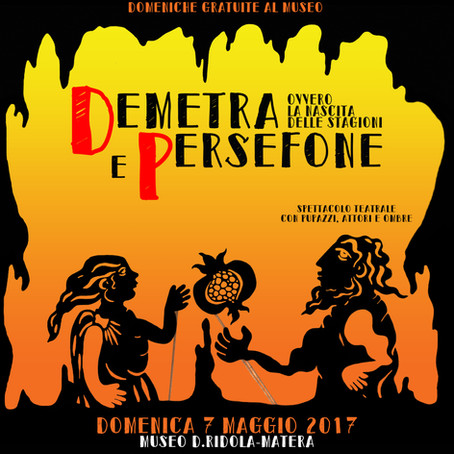 TEATRO AL MUSEO: DEMETRA E PERSEFONE