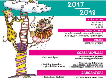 CORSI TEATRO DI FIGURA 2017|2018