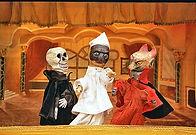Morte, Pulcinella e Diavolo - Primo pian