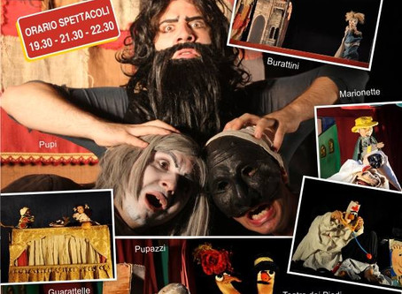 Il TeatroPAT all'Ischia Puppets