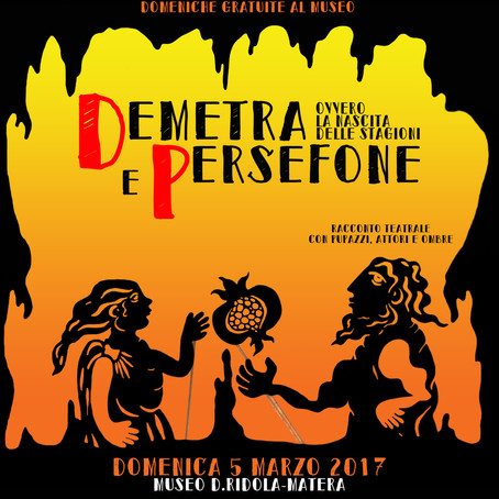 Sulle ali di Pegaso. Teatro al Museo. Domenica 5 marzo 2017