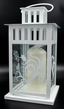 Lantern incl. candle