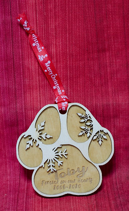 Paw Baubles Ornaments
