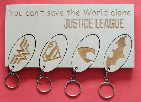 Multiple Key ring Wall set