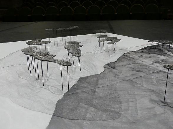 nuages de points, alexia, antuofermo, maquette, scenographie