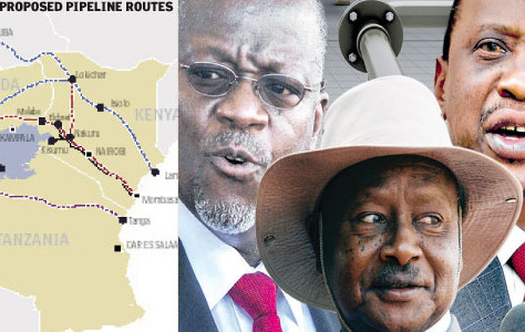Tanzania now joins Talks to Resolve Oil Pipeline Triangle and seeks Route for its Natural Gas