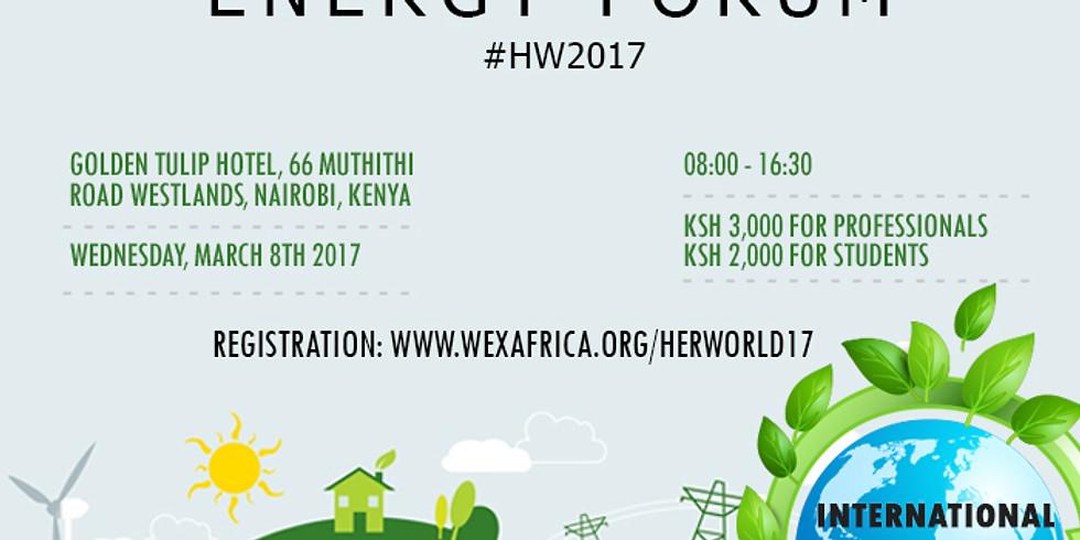 HERWorld Energy Forum 2017, Nairobi, Kenya