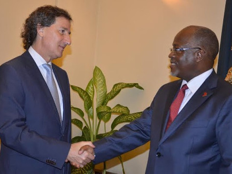 Tanzania President meets Total VP Javier Rielo over Crude Oil Pipeline