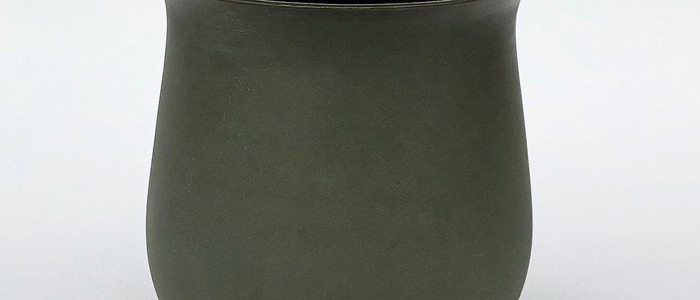 Tekoppen, mørk grønn