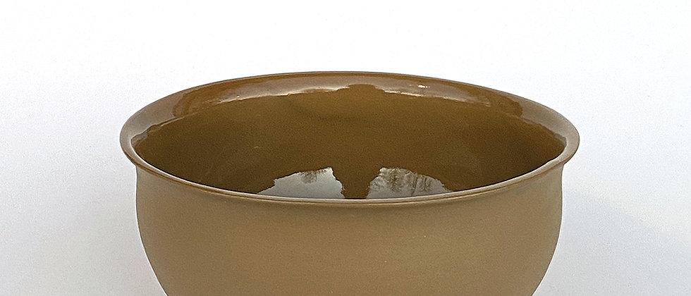 Vesle skål, brun