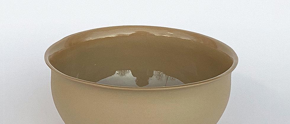 Vesle skål, lys brun