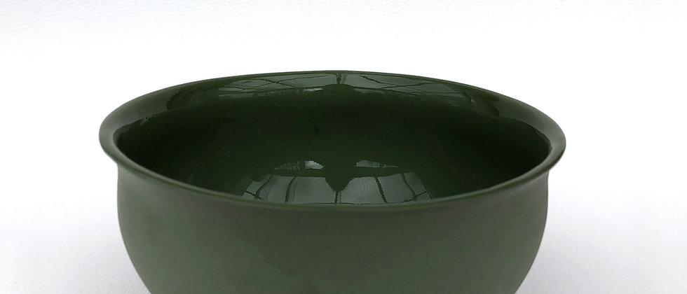 Vesle skål, mørk grønn