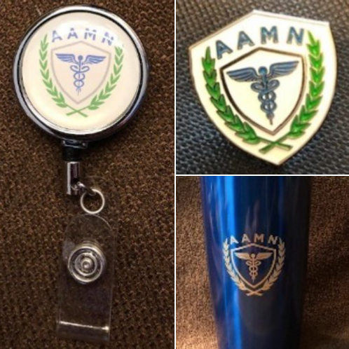Pin, Badge Clip & Tumbler Combo Package