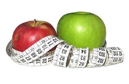 Eating healthy apples