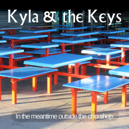 Kyla & the Keys : In the meantime outside the chip shop... Something's kicking off!