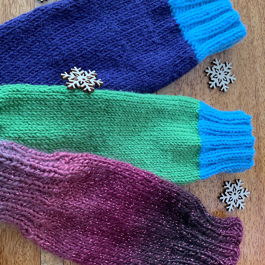 Knit or Crochet a gift of Luxury Wrist Warmers