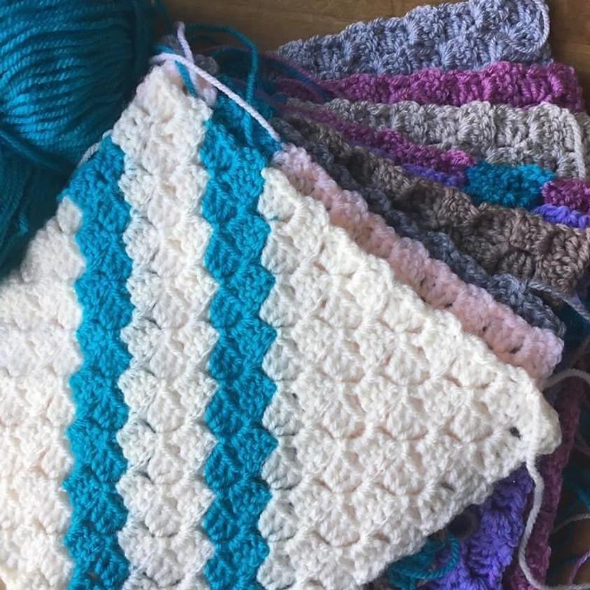 !!Online class!! Crochet Corner to Corner Blanket