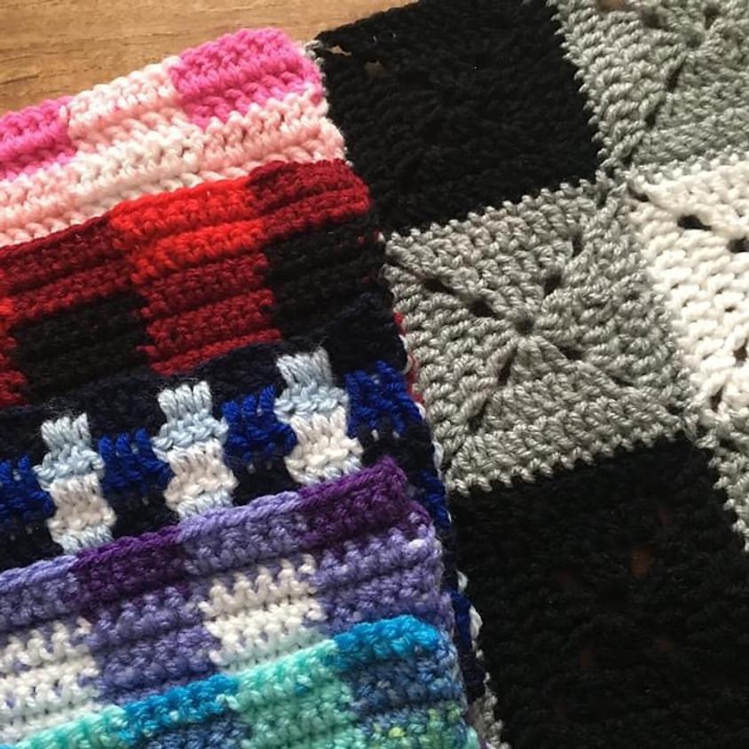 !!Online Class!! Crochet Gingham