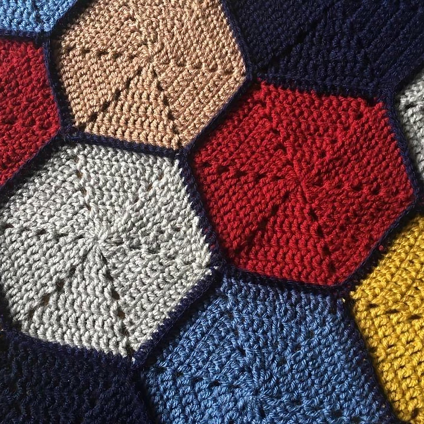 !!Online Class!! Hexagon Crochet