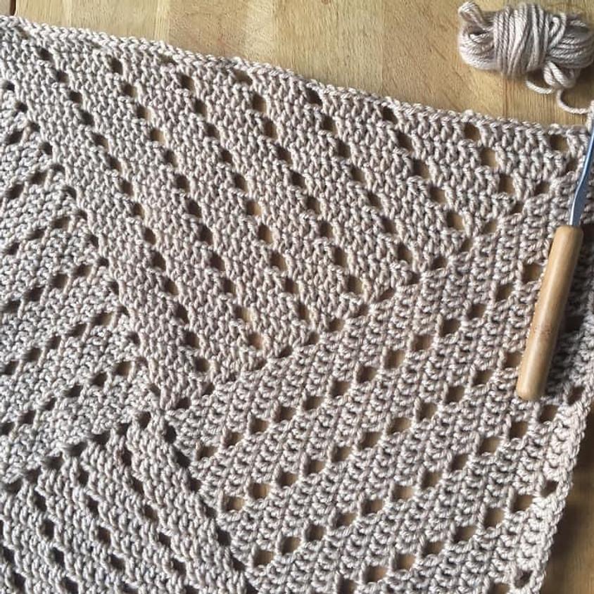 !!Online Class!! Spiral Filet Crochet