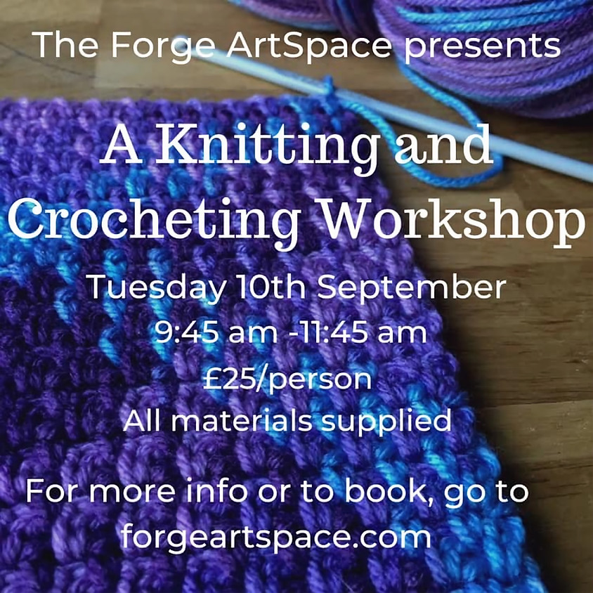 A Knitting and Crocheting Workshop