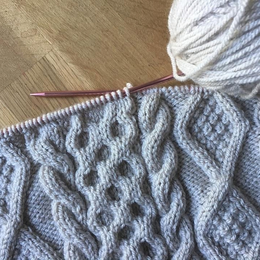 !!Online Class!! Cable knit basics
