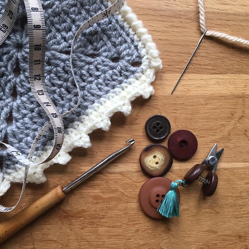 NOW FULL - The Finishing Class (Knit and Crochet)