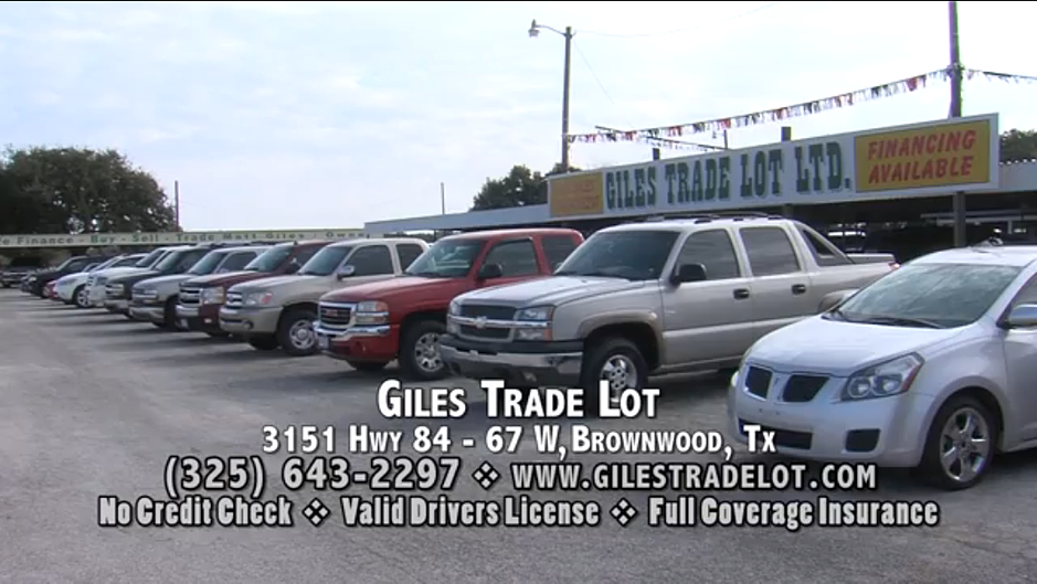 Giles Trade Lot - Used Cars in Brownwood Texas