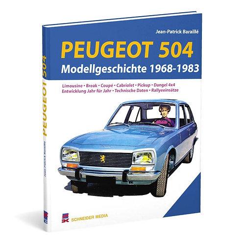 Peugeot 504 – Modellgeschichte 1968-1983