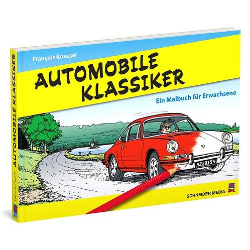 Automobile Klassiker – Ein Malbuch für Erwachsene