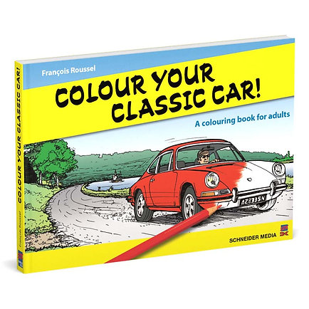 Colour your classic car! – A colouring book for adults