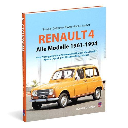 Renault 4 – Alle Modelle 1961-1994