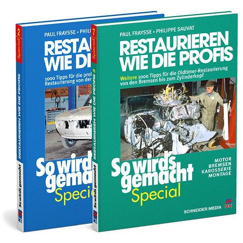 So wird's gemacht Special – Restaurieren wie die Profis, Bänder 1 & 2