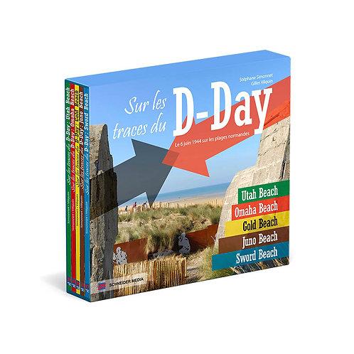 Coffret 5 volumes : Sur les traces du D-Day