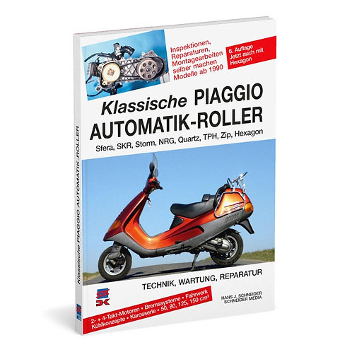 Klassiche Piaggio Automatik-Roller