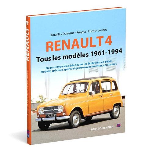 Renault 4 – Tous les modèles 1961-1994