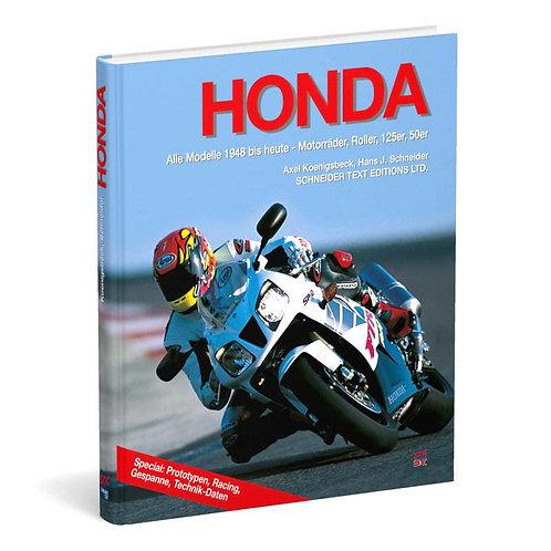 Honda – Alle Modelle 1948 bis heute
