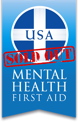 Adult Mental Health First Aid - April 24