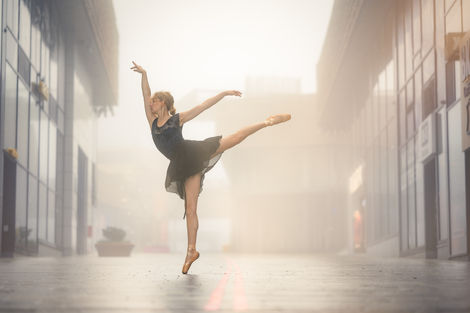 Dansen in de mist