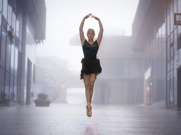 Dansen in de stad