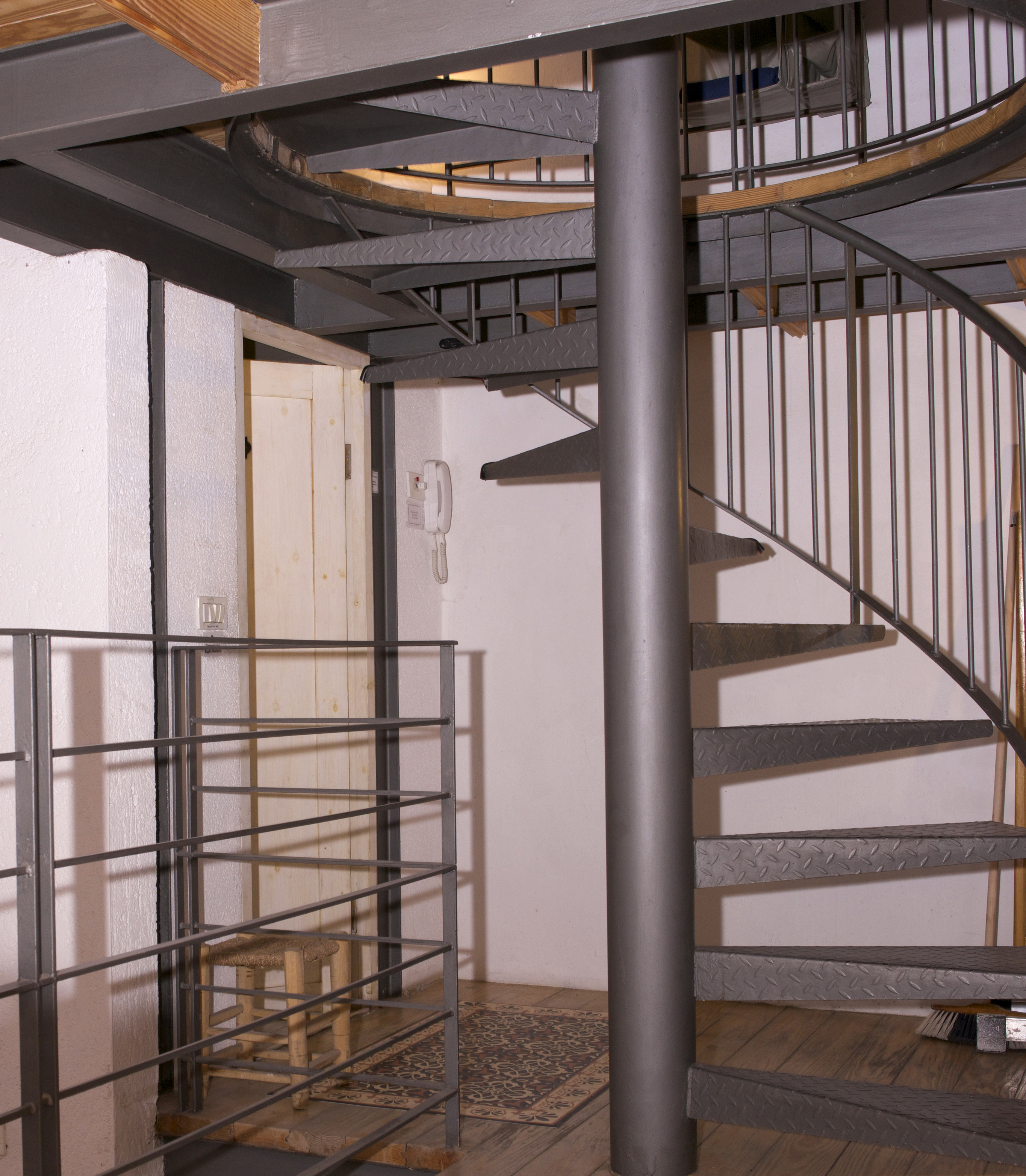 steps to second floor