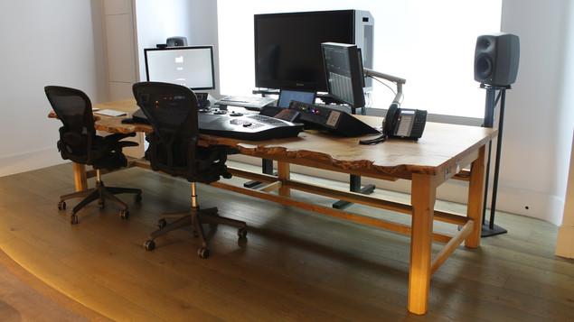 Waney Edge Desk