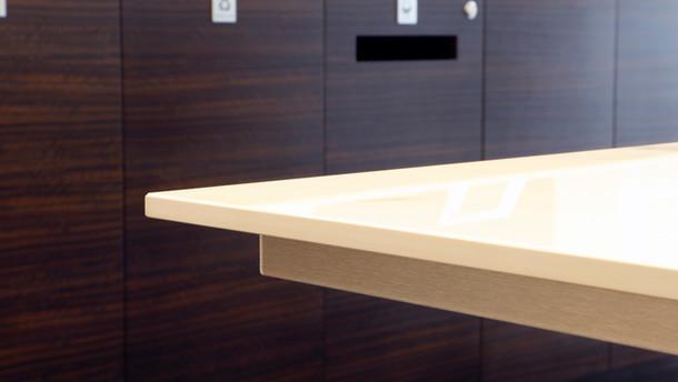 Marble Table Top Detail JCL Workbench De