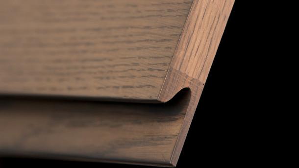 Desk Unit Finger pull detail JCL Workben