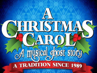 Andy returns to A Christmas Carol at North Shore Music Theatre