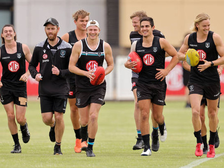 Who makes Port Adelaide's side for round 1 clash with North Melbourne?