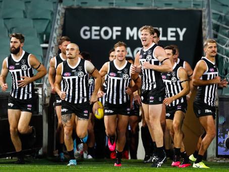 Let Port Adelaide wear its prison bar jumper AFL, stop dragging your feet.